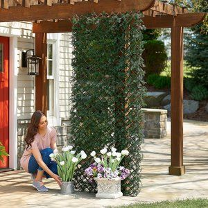Cypress Leaf Expandable Privacy Fence